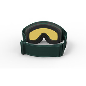 Spektrum Templet Goggles bottle green/brown revo mirror green